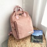 pkbg 150x150 - Plain Backpack with Canvas Applique