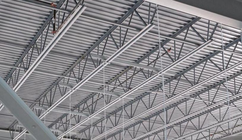steel joists and metal decking bdc university pertaining to decorations 31 816x472 - Which Steel Deck Roof To Choose
